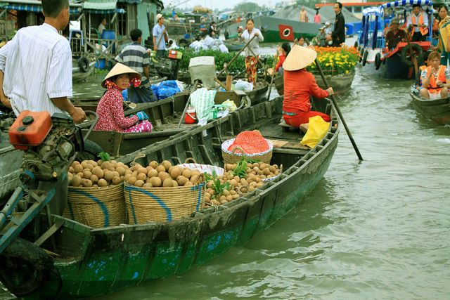 Floating markets - The charm of the Mekong Delta Vietnam