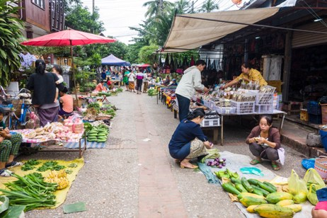 Luang Prabang-Morning Market