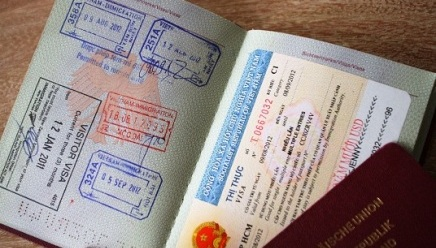 Stamping fee for Vietnam visa from Jan 01, 2013