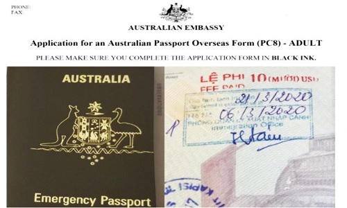 What to do if your passport with Vietnamese visa is lost?